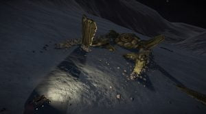 Alien wreck