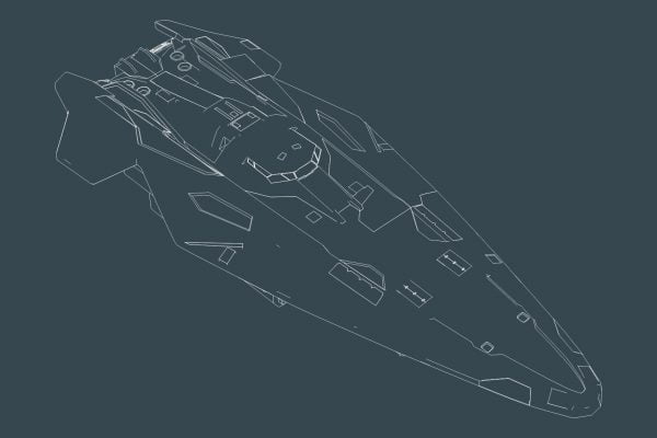 Wireframe Anaconda