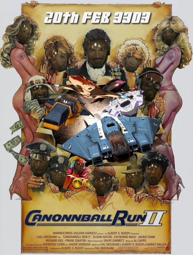Canonnball Run 2