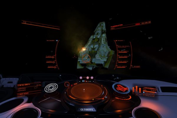 Cmdr Tarjan Damaged Corvette