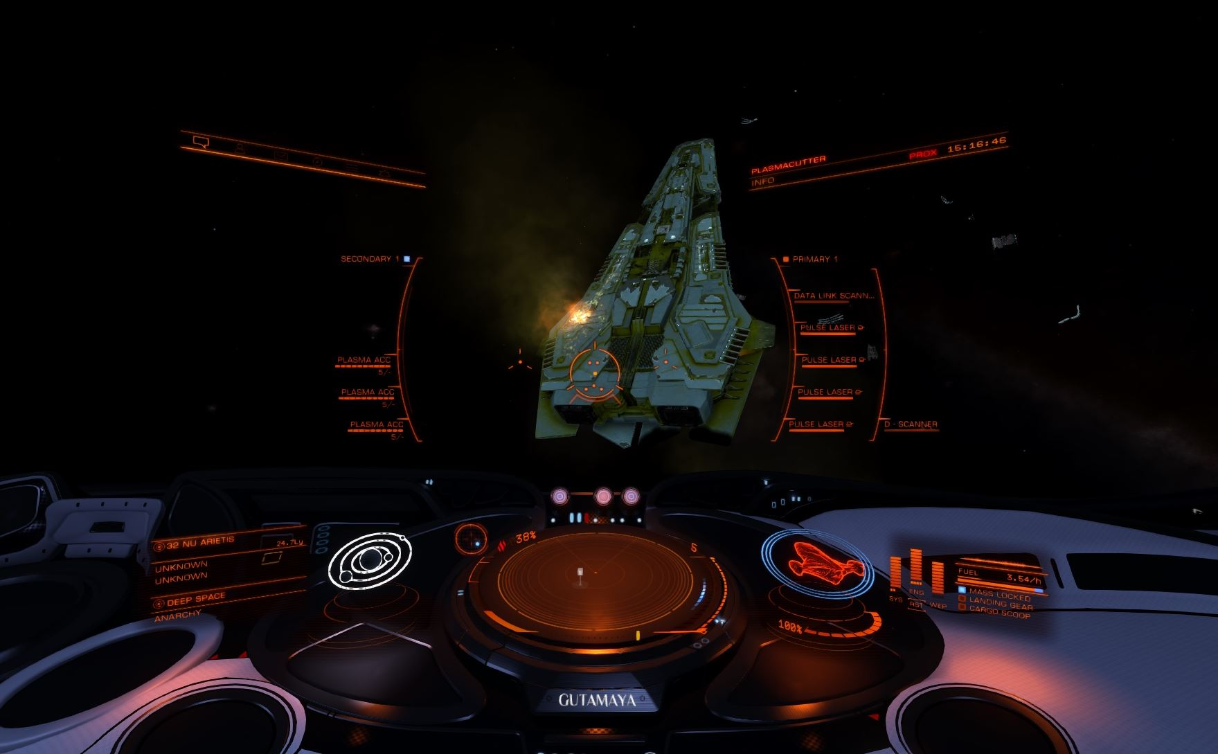 Distress Call with Unknown Ship in 32 Nu Arietis