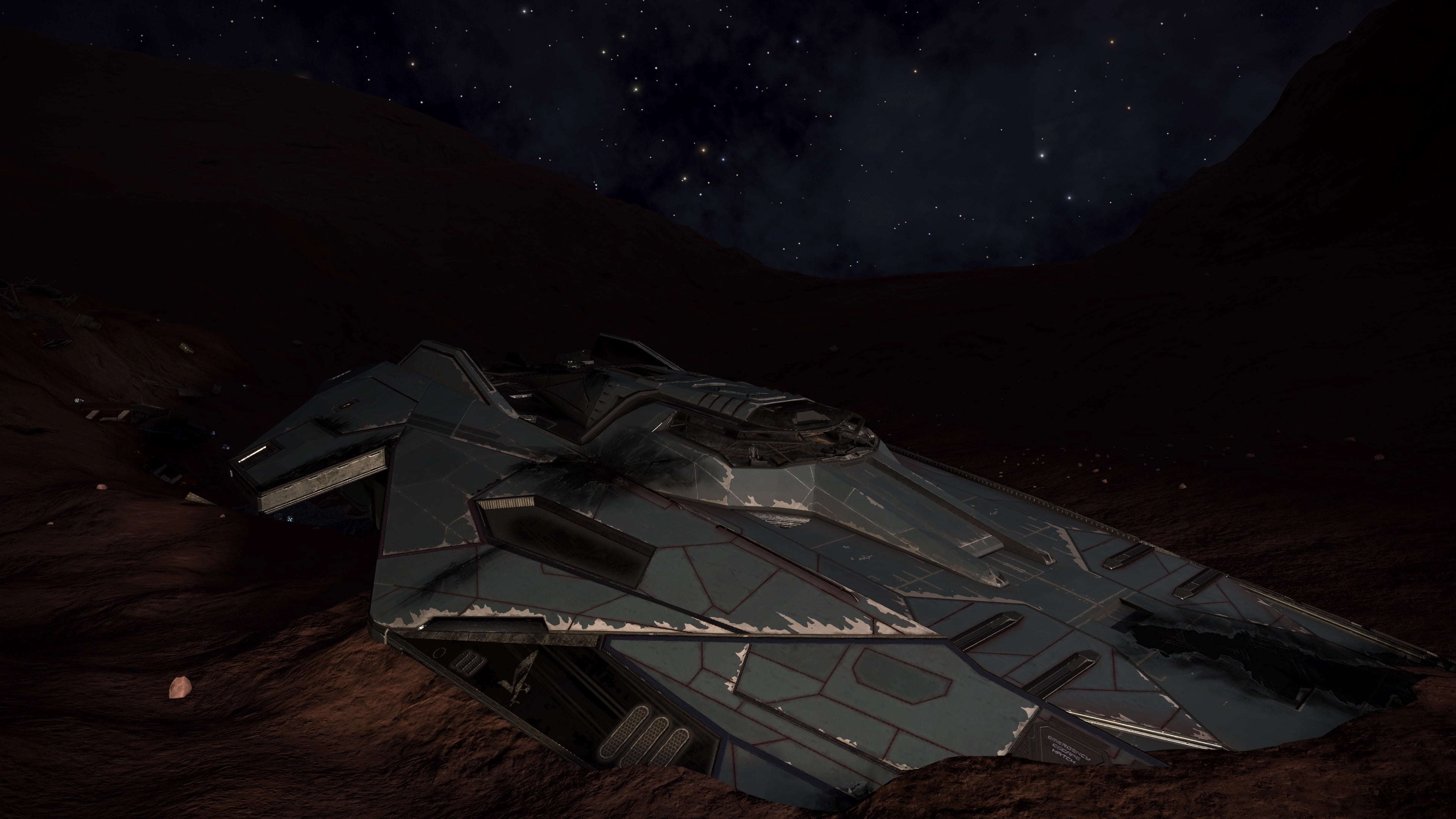 Orrere Crashed Ship