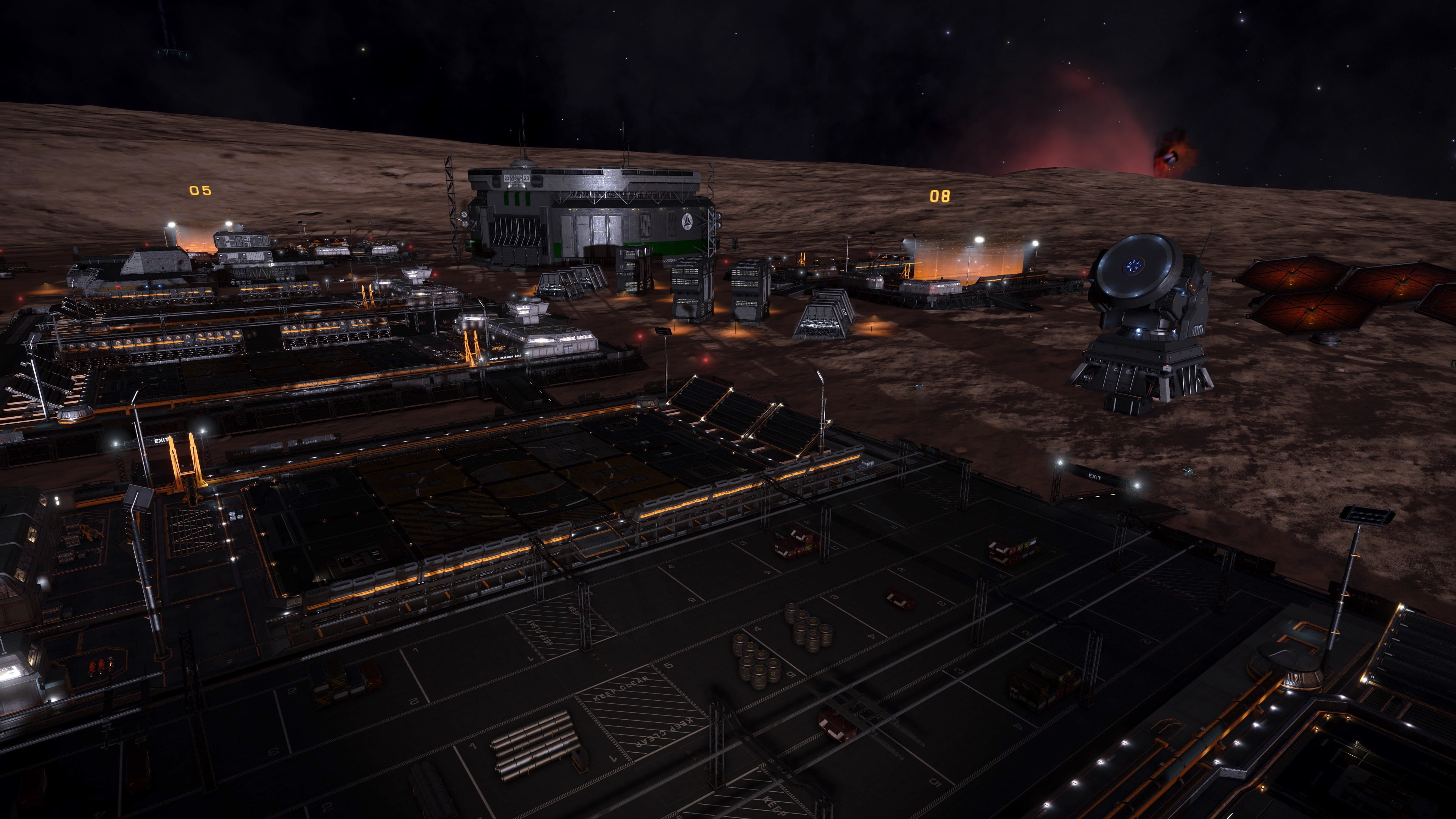 Mahon Research Base