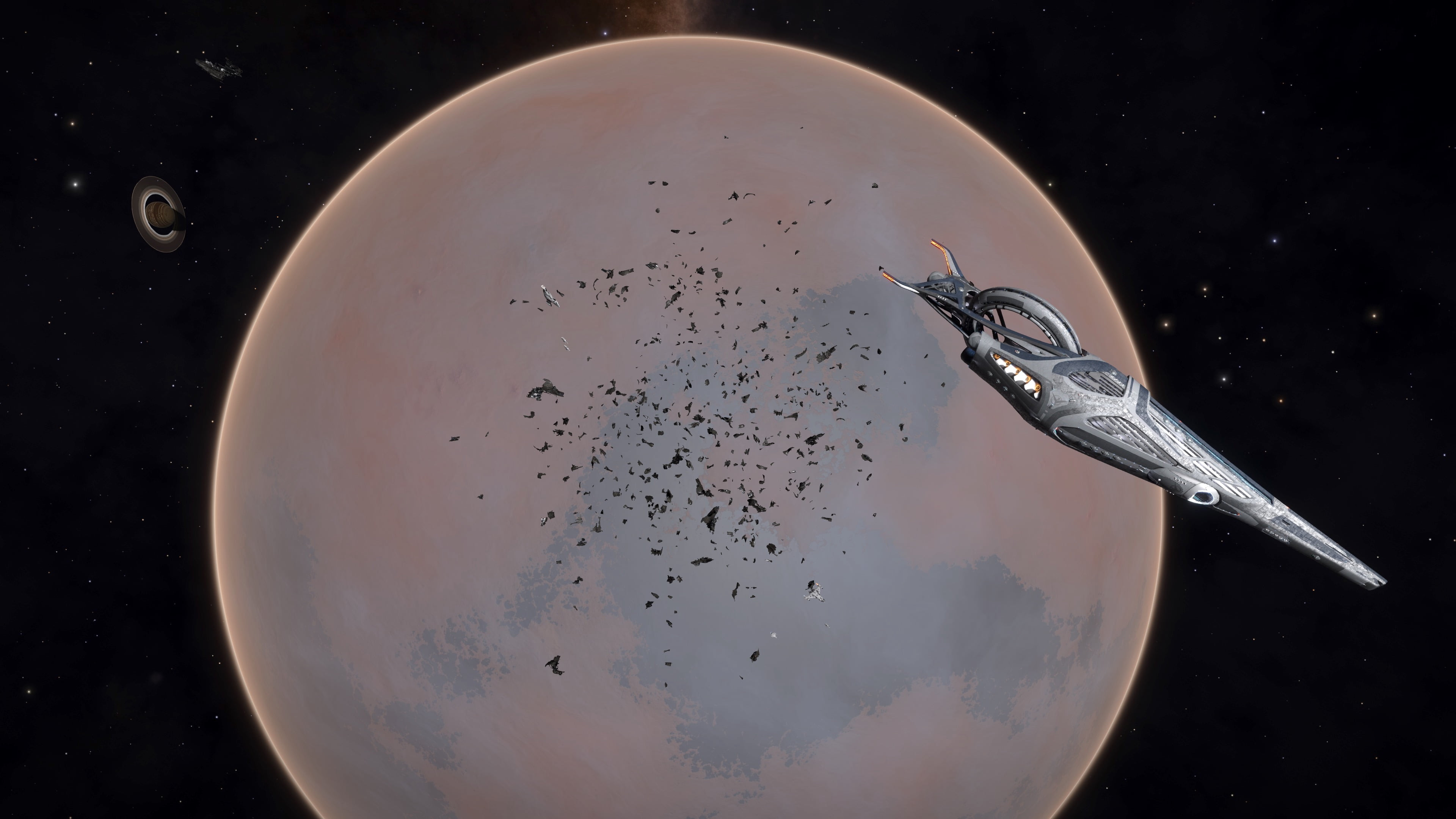 Facece 8 Capital Ship Debris