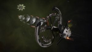 Destoryed Megaship