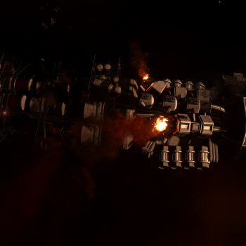 Attacked Thomas Class Bulk Cargo Ship KS-92
