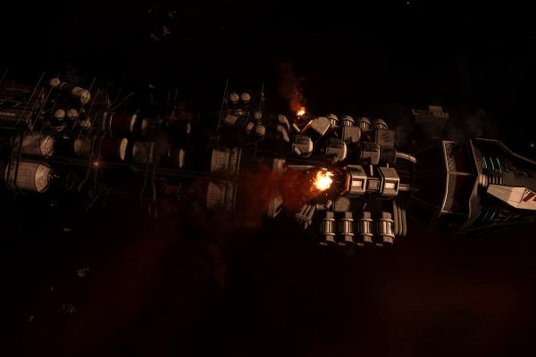 Attacked Thomas Class Bulk Cargo Ship KS-92