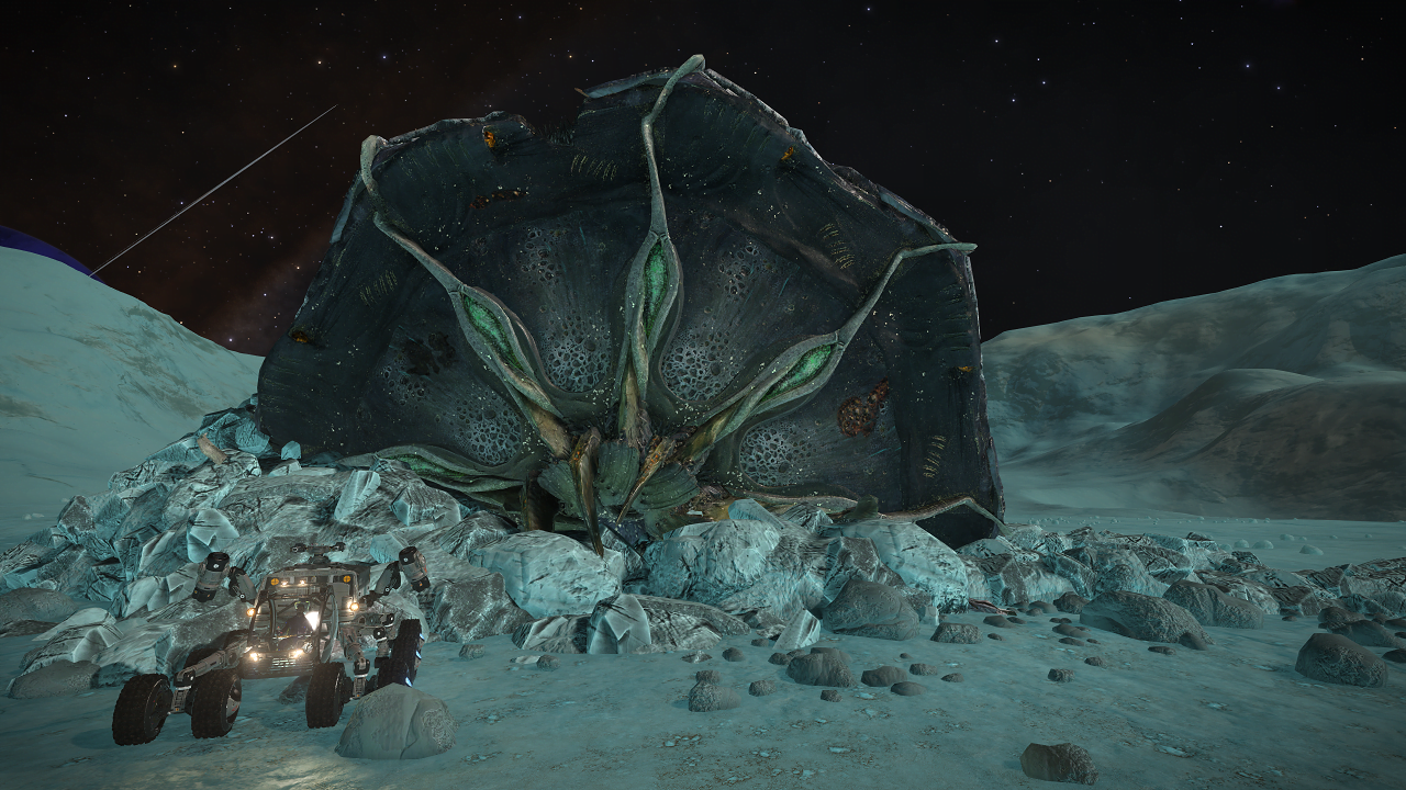 Crashed Thargoid Scout Pleiades Sector LN-T c3-4