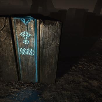 Active Guardian Obelisk - Urn Casket