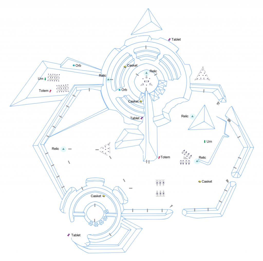 GR1 Artefact Locations