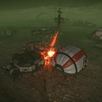 Scrump Landing Attacked
